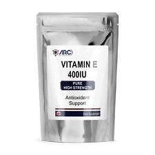 Vitamin E Capsules  400iu │Antioxidant Softgel capsules │180 Softgel Capsules