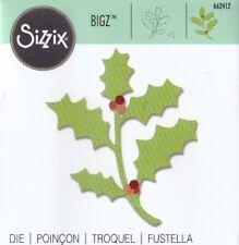"FUSTELLA BIG SHOT SIZZIX ""AGRIFOGLIO"" NATALE 662412"