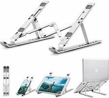 Adjustable Portable Tablet Laptop Stand Holder Desk Riser for Notebook Desk UK