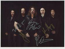 Dream Theater SIGNED Photo 1st Generation PRINT Ltd No'd + Certificate / 2