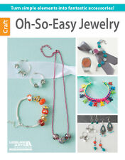 OH SO EASY JEWELRY-Glass/Seed Beads/Beaded/Beading-Knots-Jewelry Craft Idea Book