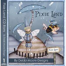 1 x Debbi Moore Designs Pixie Land CD Rom (295040)