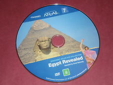 DISCOVERY ATLAS - EGYPT REVEALED  DVD Narrated by Omar Metwally