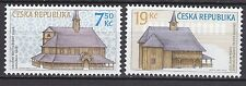 CZECH REPUBLIC 2006 MNH SC# 3321 - 3322  Wooden Churches
