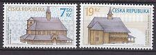 CZECH REPUBLIC 2006 MNH SC# 3321 - 3322  Wooden Churches