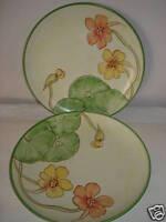 Bernarda Floral Hand Paint Dessert Salad Plate Portugal