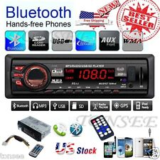 In Dash Car Audio GPS Stereo Player Bluetooth Radio Head Unit MP3/USB/SD/AUX/FM