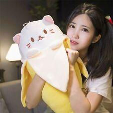 "20"" Anime Bananya Banana Cat Plush Stuffed Toy Cushion Doll Cute Big Gift  A"