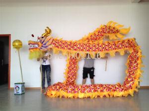14m Silk Print Fabric DRAGON DANCE Parade Dragon Chinese Folk Mascot Costume