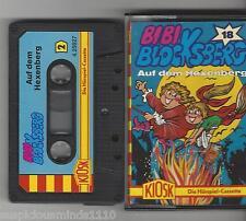 Bibi Blocksberg Kassette Folge 18 Auf dem Blocksberg - blau schwarze Kassette