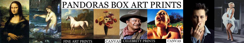 PANDORAS BOX ART PRINTS
