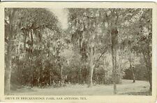 San Antonio, TX  Drive in Breckenridge Park
