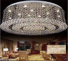 Crystal Chandelier Ceiling Lamp Fixture Curtain Pendant LED Light foyer stair r1