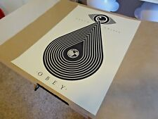 """2014 Obey Giant Shepard Fairey """" Earth Crisis """" ART PRINT STREET PASTER POSTER 1"""