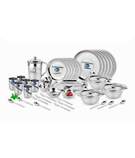 Airan 51Pcs Stainless Steel Gold Dinner Set HEAVYdutyquality (With Bill)