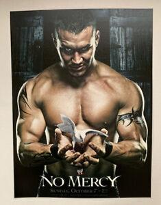 """WWF WWE Raw Poster Print Randy Orton No Mercy 2007 10/7 Pro Wrestling 12"""" x 16"""""""