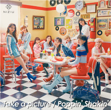 "NiziU 2nd Single ""Take a picture/ Poppin' Shakin'"" First Press Type-B CD+Booklet"