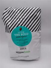 AmazonFresh Dark Roast Whole Bean Coffee 32 Ounce bag