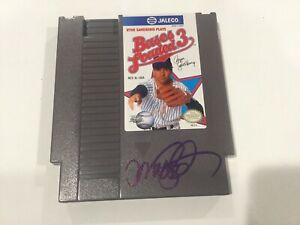 Ryne Sandberg Signed NES Nintendo Video Game Chicago Cubs Beckett BAS COA a