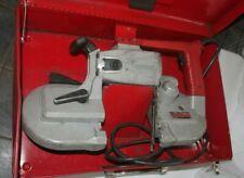 Milwaukee Deep Cut Portable Bandsaw Model 6230 With Case Heavy Duty