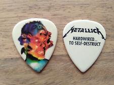 Metallica Guitar pick worldwired hardwired Big Head seńaló plectrum