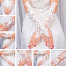 Wedding Gloves Bridal Evening Dresses Gloves Lace Gloves Bridal Fingerless Glove