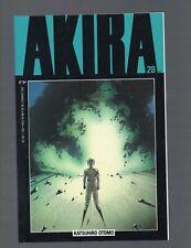 AKIRA #28 NEAR MINT 9.4 1991 1st PRINT EPIC COMICS