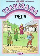 EO HERGÉ TRANSRAMA GÉANT TINTIN REPORTER JESCO 1984 DÉCOR + DÉCALCOMANIES