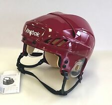 New Reebok 4K NHL/AHL Pro Stock/Return crimson small S size ice hockey helmet