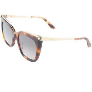 Authentic Cartier Sunglasses CT0030S 003 53MM Havana Gold Sunglasses