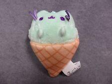 Gund New * Pusheen Blind Box - Ice Cream *  Blind Box Mini Plush Cat Key Chain