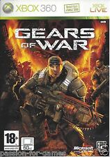 GEARS OF WAR for Xbox 360 - with box & manual - PAL
