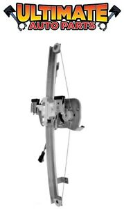 Left Rear Power Window Regulator for w/Motor 07-13 Silverado Extended Cab
