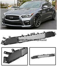Factory Style Front Bumper Lower Radiator Grille For 14-Up Infiniti Q50 Sport