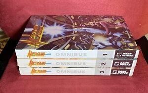 Nexus: Omnibus, Vols. 1 2 3, NEW & SEALED Dark Horse TPBs 2012-2013