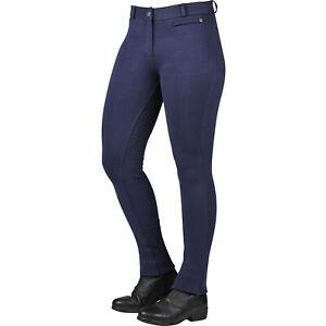Dublin Supa Fit Zip Up Gel Full Seat Womens Pants Jodhpurs - Navy All Sizes