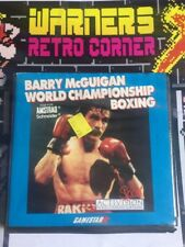 Amstrad Disk Disc Barry Mcguigan Boxing Rare Game W/ Manual Boxed