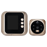 Digital LCD Peephole Security Viewer Smart Video Doorbell Door Eye Monitoring Ca