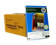 "Genuine HP Brand Q8842A Color Laser Glossy Photo Paper (4""x6"") - 500 Sheets"