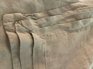 PINE CONE HILL LUXURY 100% LINEN PLEATED  Duvet Full Queen NATURAL