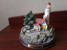 Thomas Kinkade Beacon Of Hope Seaside Lighthouse Collectors Figurerine Works