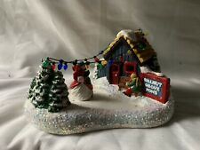 WALNUT GROVE POND ACCESSORY FOR NORTH POLE DEPARTMENT 56 LEMAX MR CHRISTMAS