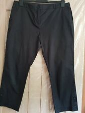 Limited Collection Black 3/4 Trousers Sz 14