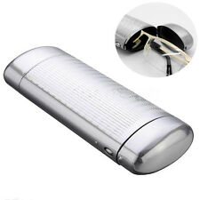 Silver Hard Metal Glasses Case Storage Aluminum Sunglasses Case Box Protector