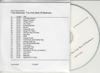 MADNESS Total Madness Very Best Of 2009 UK 23-trk promo test CD