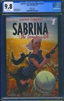 Sabrina Teenage Witch 1 (Archie) CGC 9.8 White Pages Adam Hughes Variant