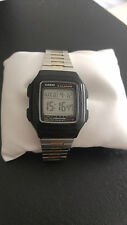 Retro Casio Uhr F-201WA-3196 Herren Collection Digital-Uhr Illuminator 5 Alarm