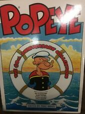 60TH ANNIVERSARY OF POPEYE COMICE STRIPS HARD BACK BOOK 1989/ 128 FULL COLOR PAG