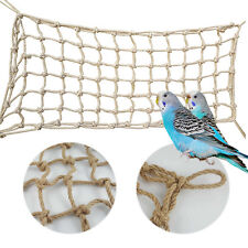 Parrot Birds Climbing Net Parakeet Strong Swing Play Rope Ladder Chew Toy Thick.