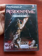 Resident Evil - Outbreak File #2 NEW SEALED (PlayStation 2, PS2) AUTHENTIC